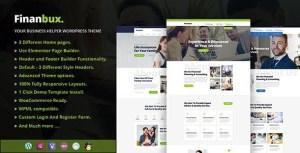 Finanbux - Elementor Business WordPress Theme