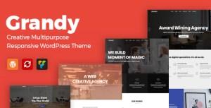Grandy - Creative MultiPurpose WordPress Theme