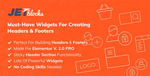 JetBlocks - the must-have headers & footers widgets for Elementor