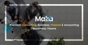 Malia - A Powerful Business and Finance WordPress Theme