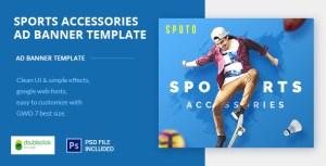 Multi Sports HTML AD Banner 01