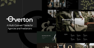 Overton - Creative Theme for Agencies and Freelancers