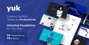 Portfolio/Agency YUK - Portfolio WordPress Portfolio