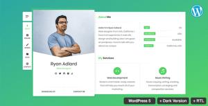 RyanCV Resume / CV / vCard Theme