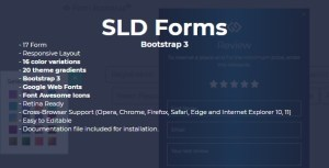 SLD Form Bootstrap 3