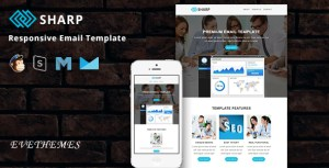 Sharp - Responsive Email Template