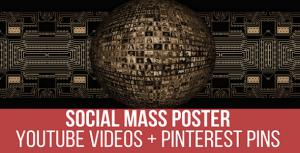 Social Mass Poster Plugin for WordPress