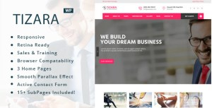 Tizara - Business Consulting WordPress Theme