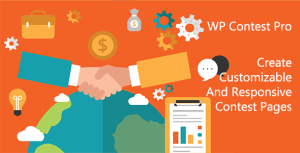 WP Contest Pro, A WordPress Plugin To Create Customizable And Responsive Contest Pages