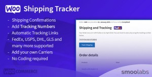 WooCommerce Shipping Tracker - Let Your Customers Track Their Shipments!
