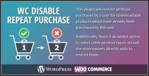 Woocommerce Disable Repeat Purchase