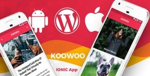 Wordpress News Android App + Wordpress Blog iOS App   IONIC 3   Full Application   Koowoo