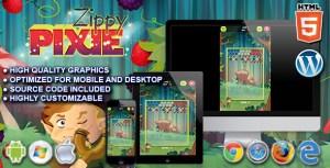 Zippy Pixie - HTML5 Puzzle Game