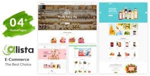 Alista – Organic Beauty Shop HTML Template