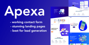 Apexa - Agency, Startup & SaaS HTML Template