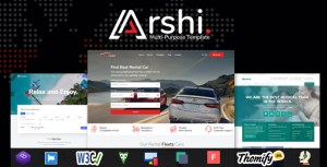 Arshi - Multipurpose All in one HTML Template