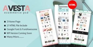Avesta - eCommerce HTML Template