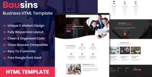 Bausins - Business Website HTML Template
