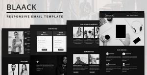 Blaack - Multipurpose Responsive Email Template