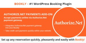 Bookly Authorize.Net (Add-on)