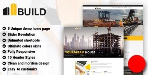 Build - Construction Building Company Joomla Template