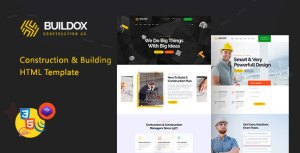 Buildox - Construction and Building HTML5 Template