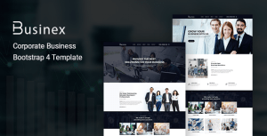 Businex – Corporate Business Bootstrap4 Template
