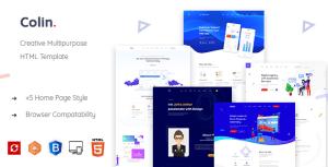 Colin - Creative Multipurpose HTML Template
