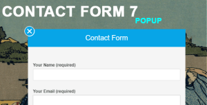 Contact Form 7 Popup