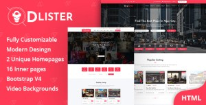 Dlister - Directory Listing HTML Template