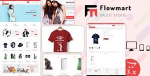 Flowmart 3.0.X Opencart MultiPurpose Responsive Theme