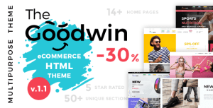 Goodwin - eCommerce HTML Template