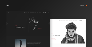 ISIK. — Responsive Personal Portfolio HTML5 Template