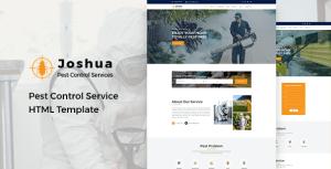 Joshua - Pest Control Service HTML Template