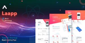 Laapp - React App Landing Page