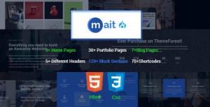 Mait | Responsive Bootstrap Drupal 8.7 Landing Page Theme