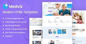 Medviz - Health & Medical template