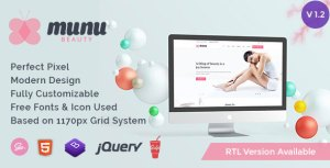 Munu - Beauty HTML5 Template + RTL