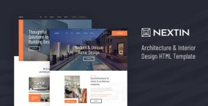 Nextin - Architecture & Interior Design HTML Template