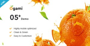 Ogami - Multipurpose Organic Store & Bakery HTML Templates