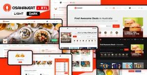 Osahan Eat - Online Food Ordering Website HTML Template