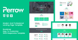 Perrow - Responsive Multipurpose Template