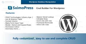 Sximopress - CRUD Generator and Database Manipulation