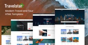 Travelstar - Tour & Travel Agency HTML Template