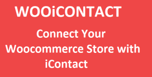 Woocommerce iContact Integration