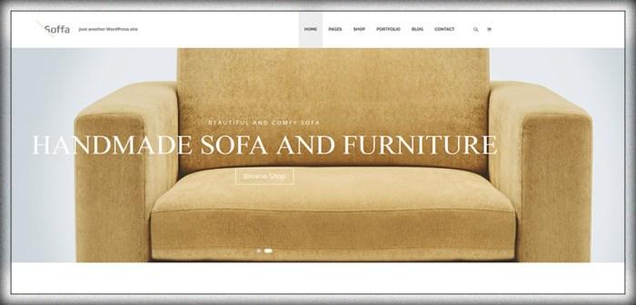 Soffa - Thème WordPress Mobilier et Entreprise