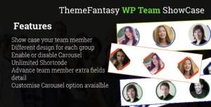 Fancy WordPress Team Showcase
