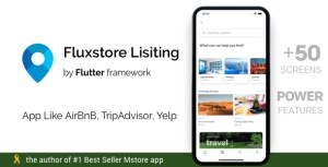 FluxStore Listing - Directory WooCommerce app by Flutter