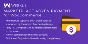 Marketplace Adyen Payment For WooCommerce