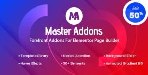 Master Addons - Forefront Addons for Elementor